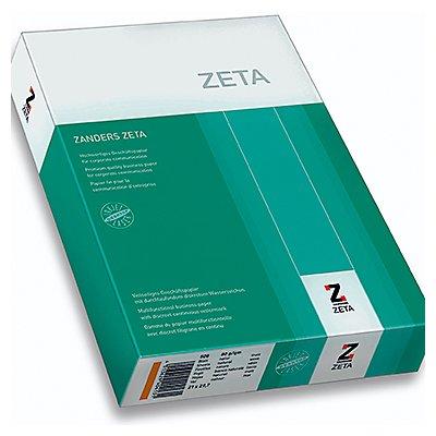 Zanders Multifunktionspapier Zeta 88025897 DIN A4 weiß 500 Bl./Pack.
