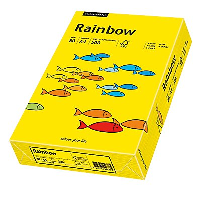 Rainbow Kopierpapier A4 80g 500 Bl./Pack.