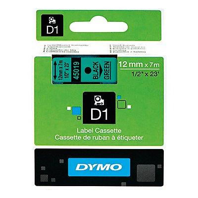 DYMO Schriftbandkassette D1 S0720560 12mmx7m sw auf bl