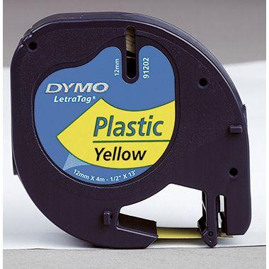 DYMO Schriftbandkassette LetraTag 12mmx4m auf