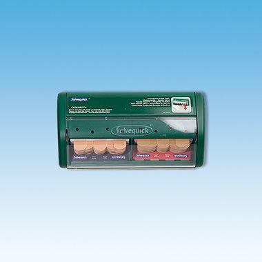 Salvequick Pflasterspender 1009070 grün +Refill 6444/6036