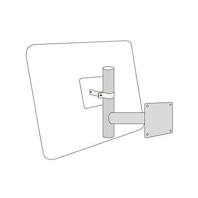 Wandarm - feuerverzinkt - Ø 76 mm