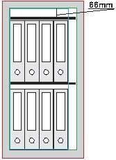 Möbeltresor - allseitig doppelwandig, Tür doppelwandig