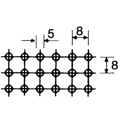 Stapelkasten aus gelochtem Stahlblech - Inhalt ca. 80 l
