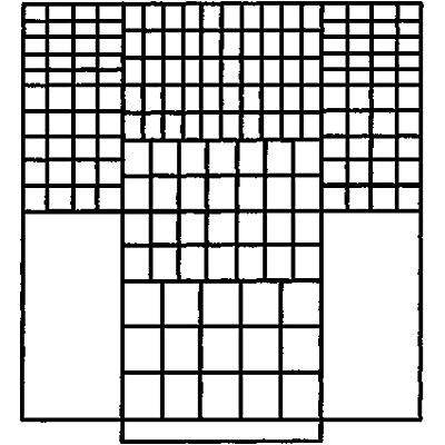 Mauser Großraumschrank - 11 Fachböden, 173 Sichtlagerkästen