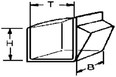 Klappkasten-System - Gehäuse-HxBxT 164 x 600 x 133 mm