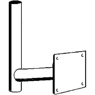 dancop Wandarm - Ø 60 mm - Länge 500 mm