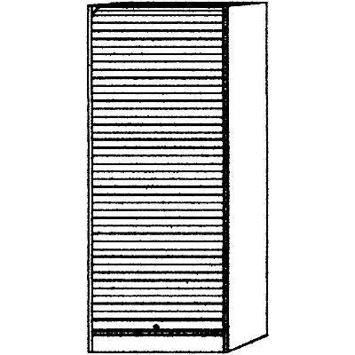 VIOLA Rollladenschrank - Breite 900 mm, 4 Fachböden, davon 1 fest
