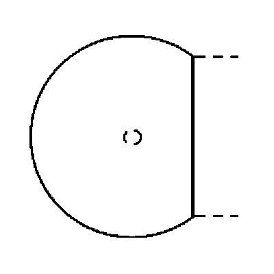 FINO Anbautisch - mit Stützfuß, rund