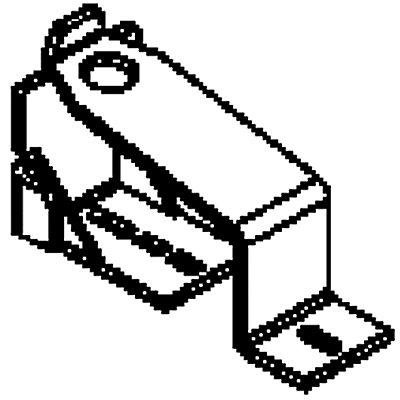 Auflaufschuh - für Rollenleiste - zum Abbremsen der Last