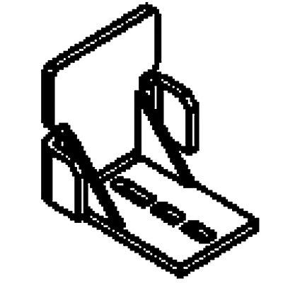 Anfahrschutz - für Rollenleiste - verhindert Zurückrollen
