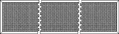 Anti-Ermüdungsmatte aus Naturgummi, schwarz - Einzelmatte
