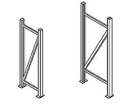 Echelles de rayonnages pour charges lourdes - hauteur échelles 2000 mm