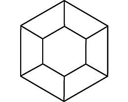 Mehrzwecktisch: Hexagon-Aufstellung