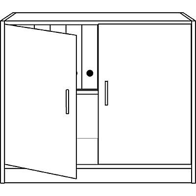 office akktiv STATUS Flügeltürenschrank - 1 Fachboden
