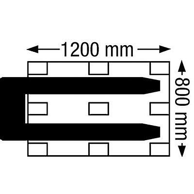 Pramac Paletthubwagen - Lenkräder Vollgummi