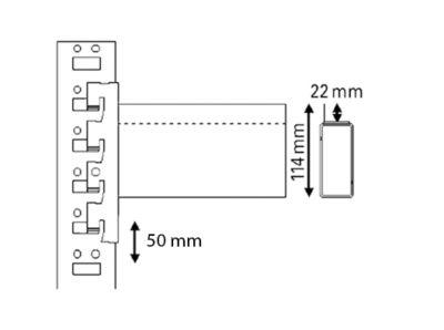Schwerlastregal-Auflagetraversen, Paar - Kastentraversen zur Einlage von Spanplatten, Länge 1800 mm