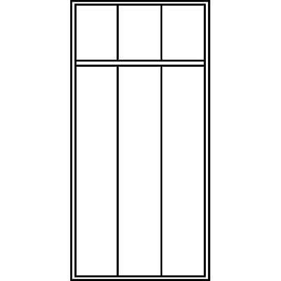 CP Garderobenschrank mit Kunststoff-Füßen - Abteilbreite 300 mm, HxBxT 1850 x 900 x 500 mm