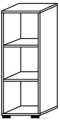 office akktiv RENATUS Regal - HxB 1100 x 400 mm, 2 Fachböden