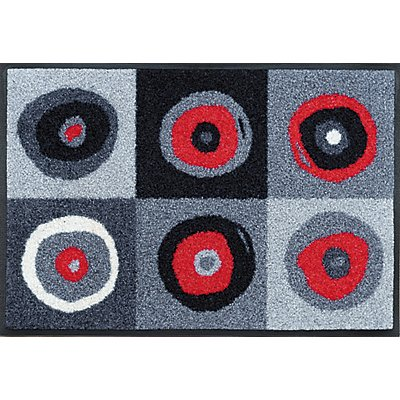 fu matte sergej grey allergiker geeignet von wash and dry. Black Bedroom Furniture Sets. Home Design Ideas