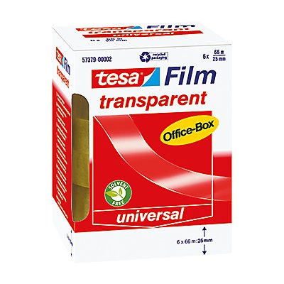 tesa Klebefilm tesafilm OfficeBox 57379-00002 transparent 6 St./Pack
