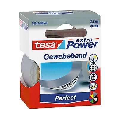 tesa Gewebeband extra Power Perfect 56343-00035 weiß