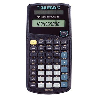 Texas Instruments Taschenrechner TI-30ECORS 7,9 x15,3x1,8cm schwarz