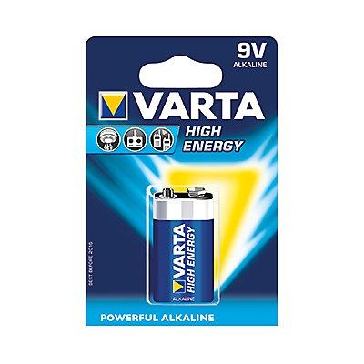Varta Batterie High Energy 04922121411 E-Block 9V 580mAh