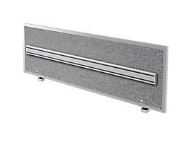 Hammerbacher Akustik-Orga-Wand | HxBxT 50 x 159,5 x 2,7/5 cm | Grau meliert
