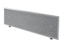 Hammerbacher Cloison de table acoustique | HxLxP 50x119,5x2,7-5 cm