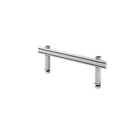 Hammerbacher Glissière-Orga | Aluminium anodisé | HxLxP 36,5x102x2,5-5 cm