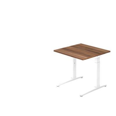 Hammerbacher Schreibtisch | höhenverstellbar | BxT 80 x 80 cm