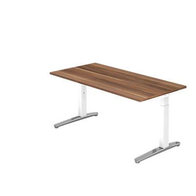 Hammerbacher Schreibtisch | höhenverstellbar | BxT 160 x 80 cm