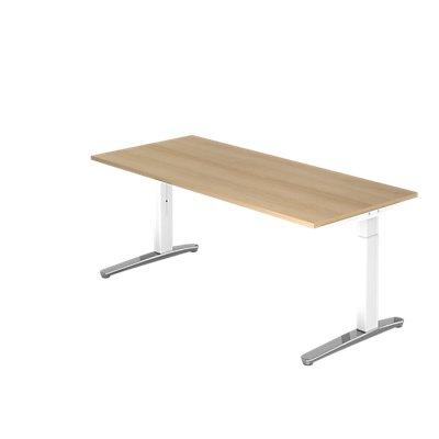 Hammerbacher Schreibtisch | höhenverstellbar | BxT 180 x 80 cm