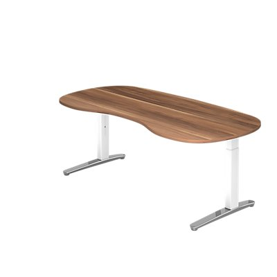 Bureau Hammerbacher | Hauteur réglable manuellement | LxP 200x100 cm