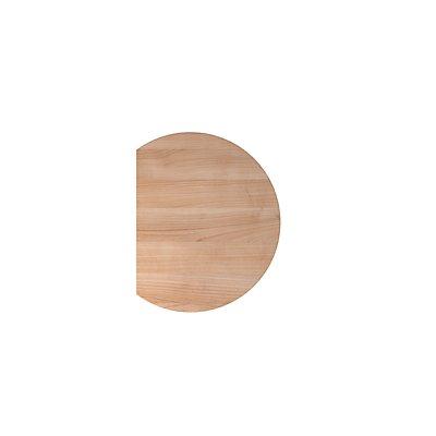 Hammerbacher Anbauplatte | Rund | Serie XBHM | BxT 60 x 80 cm