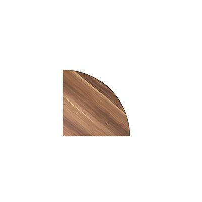Hammerbacher Anbauplatte | Abgerundet | Serie XBHM | BxT 80 x 80 cm