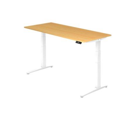 Hammerbacher Schreibtisch | Elektrisch höhenverstellbar | BxT 180 x 80 cm