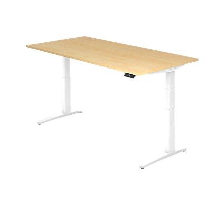 Hammerbacher Schreibtisch   Elektrisch höhenverstellbar   BxT 200 x 100 cm