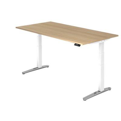Hammerbacher Schreibtisch | Elektrisch höhenverstellbar | BxT 200 x 100 cm