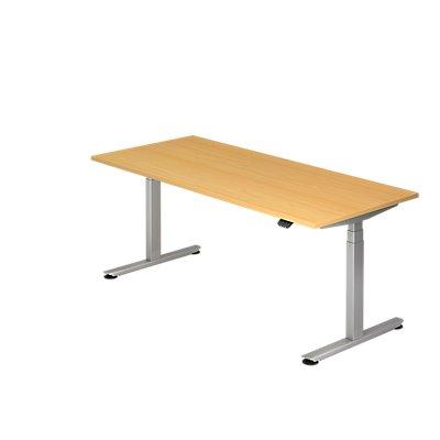 Hammerbacher Schreibtisch, elektrisch höhenverstellbar, Breite 1800 mm