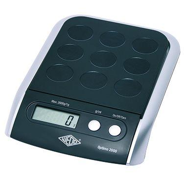 WEDO Briefwaage Optimo 5000 0485001 5kg sw/si +Batterien