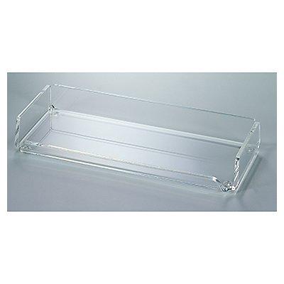 MAUL Stifteschale 1956005 22x3x10cm 1Fach Acryl glasklar