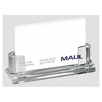 MAUL Visitenkartenbox 1959405  max. 35Karten Acryl