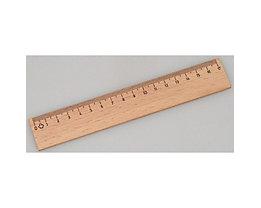 M+R Lineal 19170000 17cm Holz naturbelassen buche
