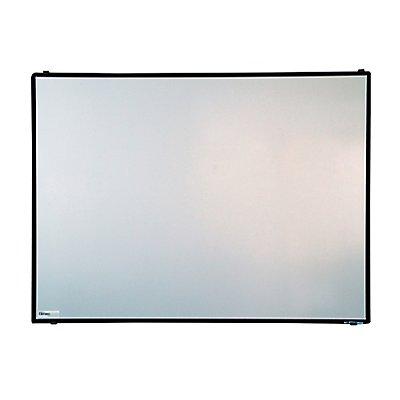 tableau blanc balu de certeo l x h 1200 x 900 mm cadre en aluminium anodis noir. Black Bedroom Furniture Sets. Home Design Ideas