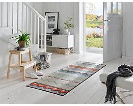 Waschbare Fußmatte Zigzag - von wash and dry