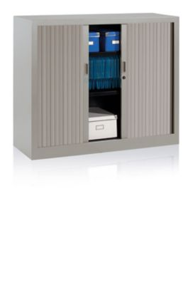 EOL Armoire à rideaux H. 100 CM L. 120 cm Gris clair Une armoire à rideaux... par LeGuide.com Publicité