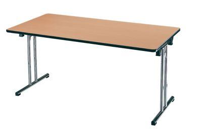 EOL Table pliante L. 140 x P. 70 cm plateaux Hêtre de Honfleur Piétements... par LeGuide.com Publicité