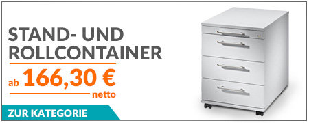 Stand- und Rollcontainer von Hammerbacher
